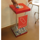 Single Box Cycle Recycling Bin - 60 and 80 Litre Available