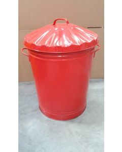 Galvanised Trash Can Available in 5 Colours