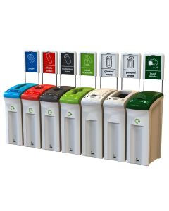82 Litre Midi Recycling Bin