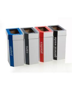 MyBin Set of 5 Cardboard Bins - 60 Litre CLEARANCE