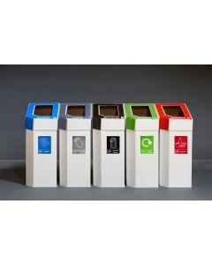 MyBin Classic Set of 5 Cardboard Bins With FREE Liners