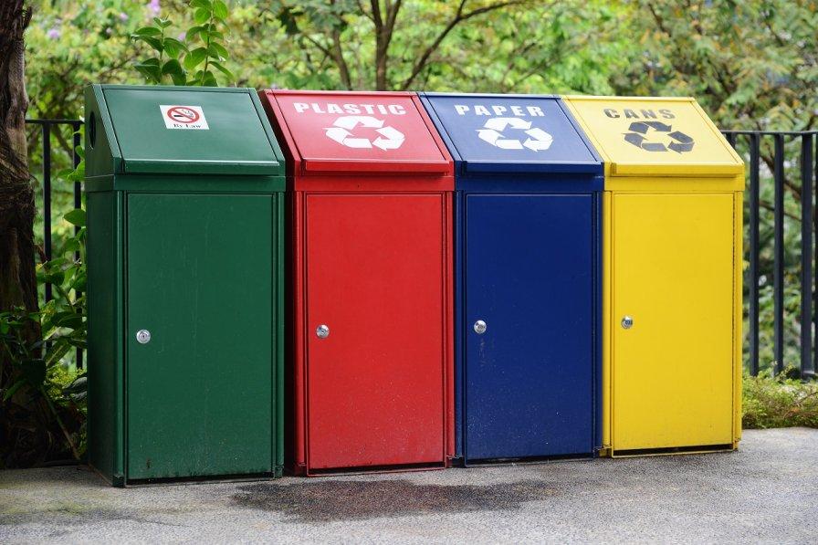 Recycling Bin Colours