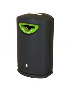 Pioneer External Mixed Recycling Bin - 130 Litre