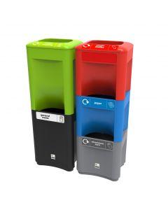 52 Litre Enviro Stacking Recycling Bin