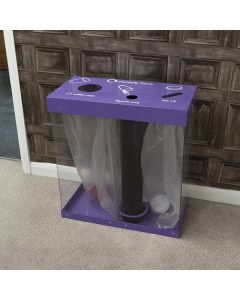 Box Cycle Cup Recycling Bin - 120 & 160 Litres Available