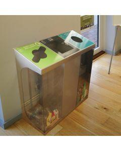 C-Bin Triple Recycling Bin - 180 & 240 Litre Available