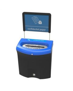 Meridian Confidential Paper Recycling Bin - 87 Litre