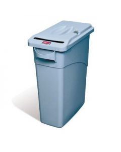 Slim Jim Confidential Paper Bin with Lock 60 Litres