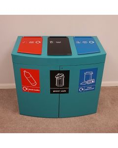 Console Recycling Station - 240 Litre