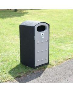 Mini Cyclo Outdoor Litter Bin - 112 Litre