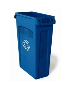 Slim Jim Waste Container with Venting Channels 60.5 Litres