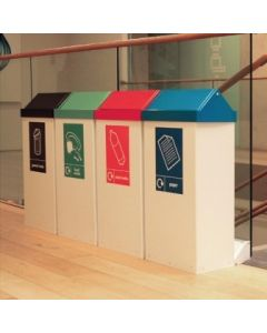 Swing-Cycle Recycling Bins - Available in 3 Sizes