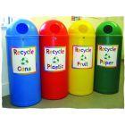 Slimline Classic Recycling Bin