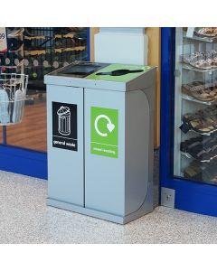 C-Bin Double Recycling Bin - 120 & 160 Litre Available