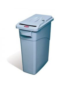 Slim Jim Confidential Paper Bin with Lock 87 Litres
