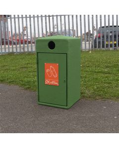 Never Rust Recycling Bin - 112 Litre