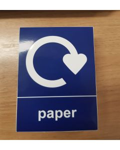 Bulk Load of 100 x Paper Recycling Stickers