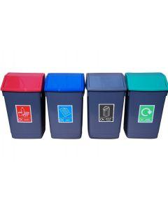 Swing Recycling Bin 60 Litres