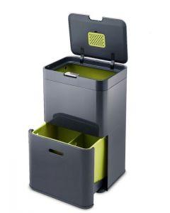 Joseph Joseph Intelligent Totem Recycler - 48 Litre